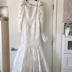 Mori Lee Dresses | Lace And Beaded Vintage Wedding Gown | Poshmark